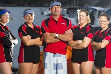 ISA STAFF MEMBER TO ROW AT ANZAC COVE