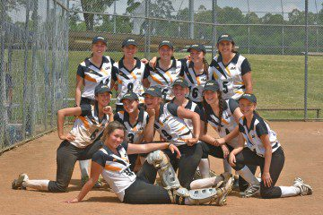 History Making Victory for the 2016 ISA Softball Team