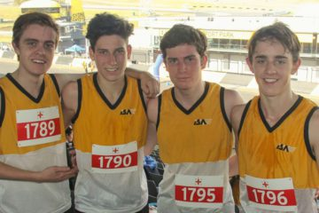 St Patrick's College Strathfield, win 2 Team Events at the 2017 NSWCIS Cross Country Championships
