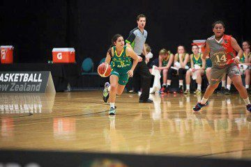 National Basketball Success for Abby Cubillo